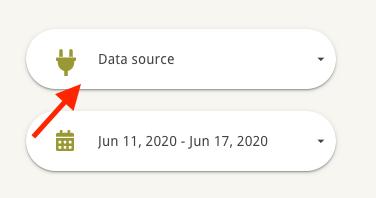 filters in a google data studio dashboard