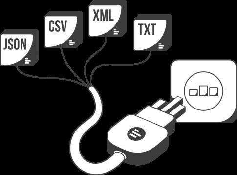 Custom json data studio transparent