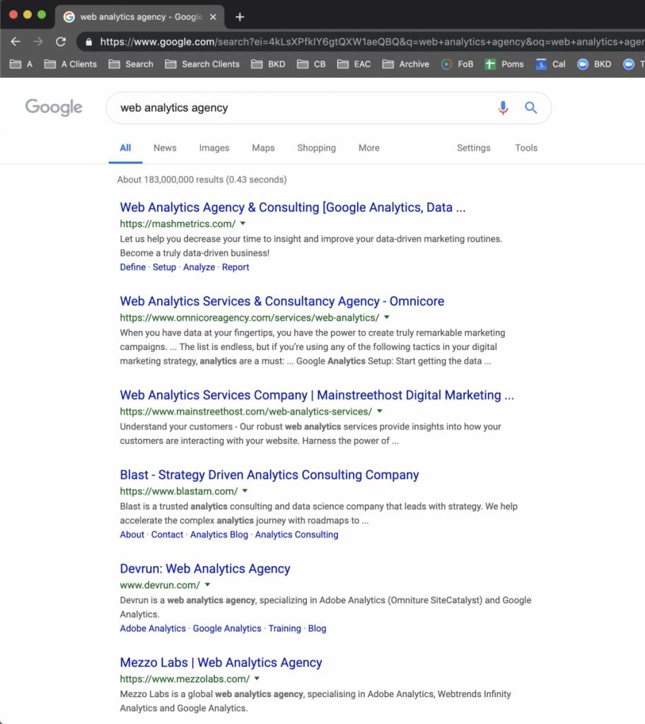 Web-analytics-agency