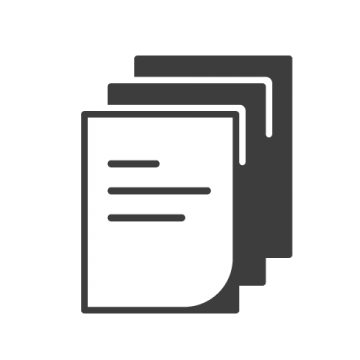 Supermetrics paper icon white