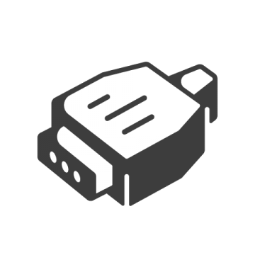 Supermetrics connector icon white