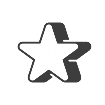 Supermetrics star icon white