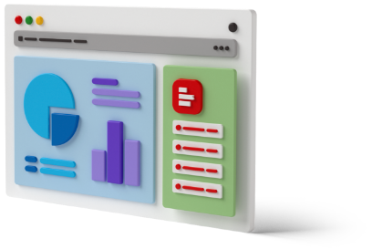 Supermetrics for Excel dashboard 3D