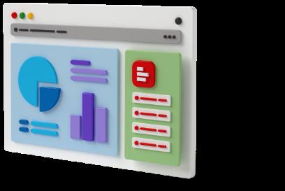 Supermetrics for Excel dashboard 3D