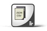 Supermetrics Custom JSON CSV connector logo