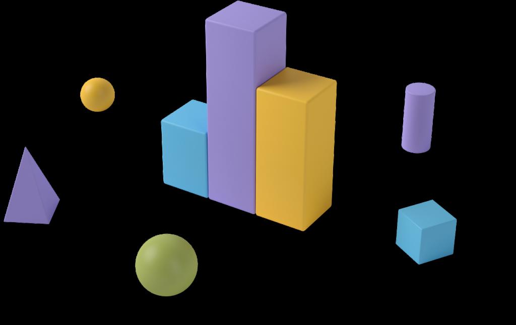 3D graph shapes