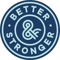 Better & Stronger agency logo