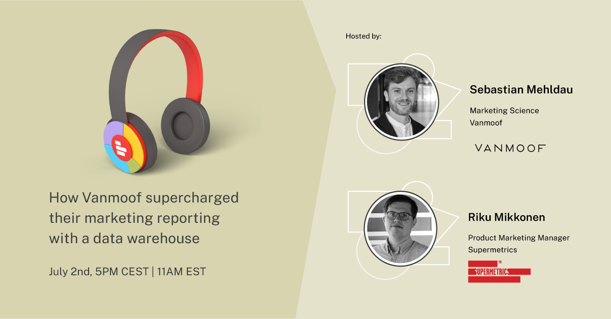 How VanMoof supercharged their marketing reporting with a data warehouse