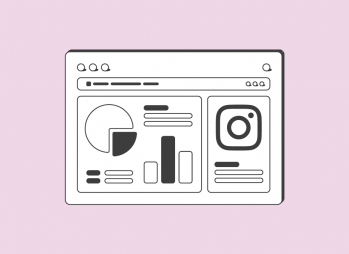 Instagram Insights template tutorial banner