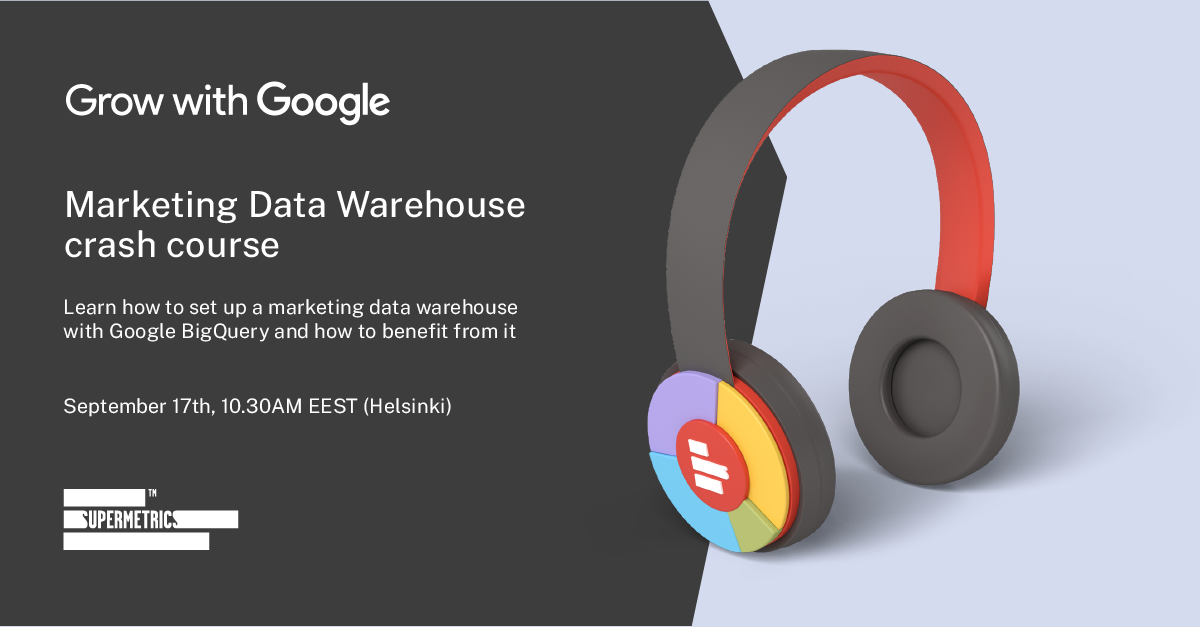 Marketing data warehouse crash course