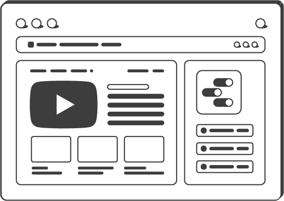 YouTube reporting template