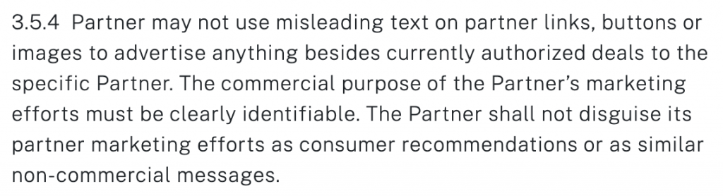 supermetrics partner terms and conditions section 3.5.4