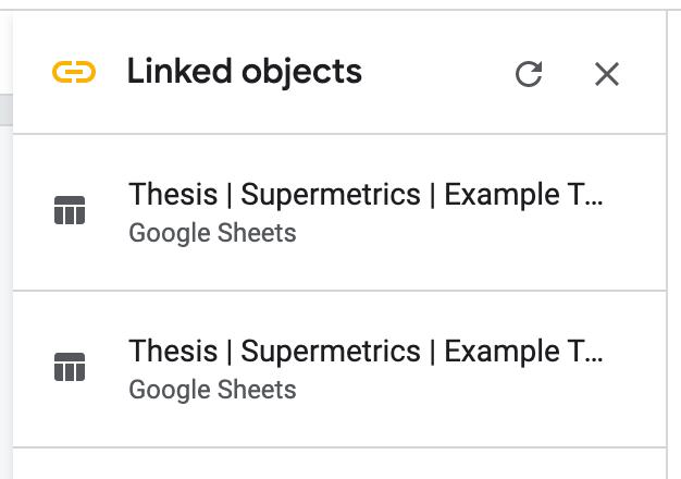 Update report in Google Slides