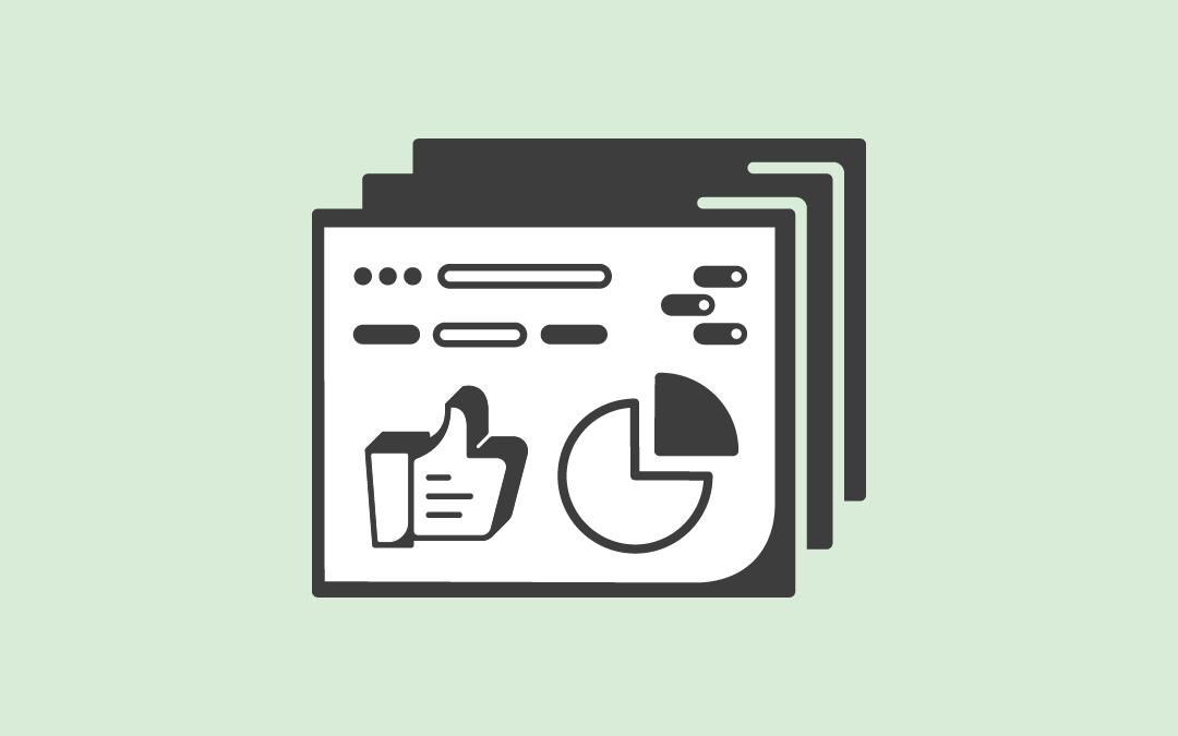 social media reporting template