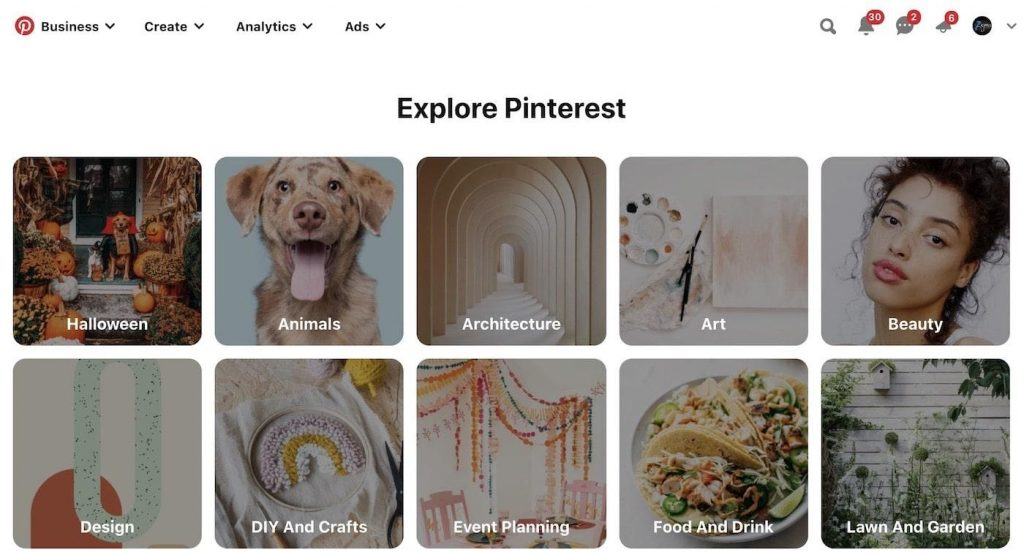 Explore Pinterest