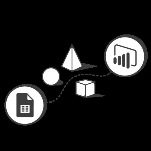 Sheets to Power BI transparent