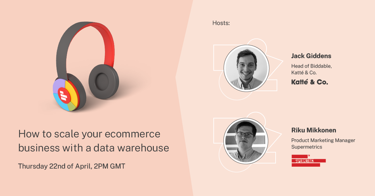 How to scale your ecommerce business with a data warehouse