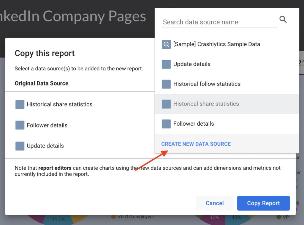 Create a new data source